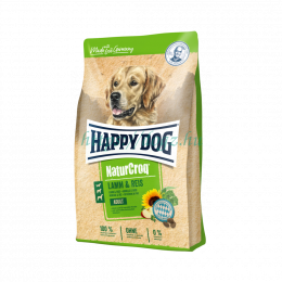 Happy Dog NaturCroq Lamm, Reis