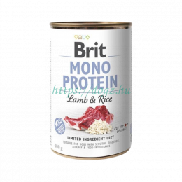 Brit Mono Protein  Lamb Rice Canned
