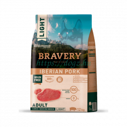 Bravery Dog Adult Medium/Large Light Grain Free Iberian Pork